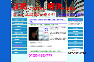岸和田昇調査事務所のHP