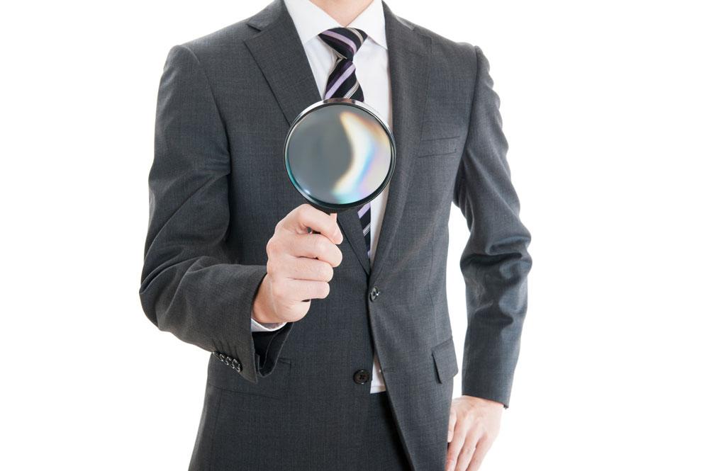 探偵事務所の調査員