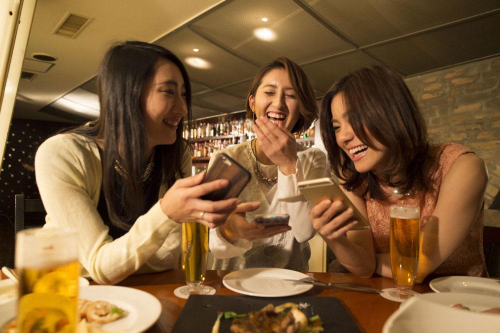 友達と飲み会