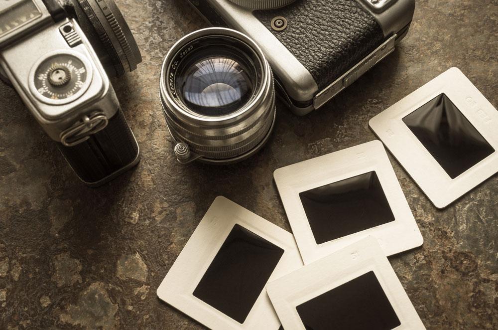 探偵用のカメラ