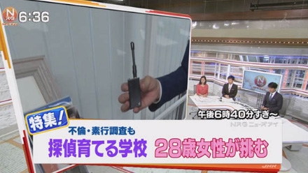 さくら幸子探偵事務所のテレビ出演
