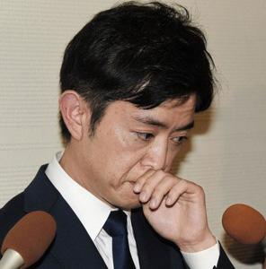 橋本健の不倫記者会見